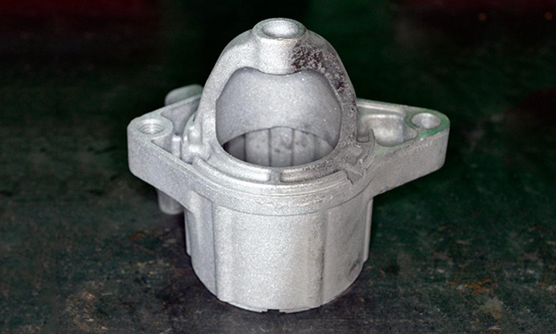 Пескоструйная обработка деталей стартера