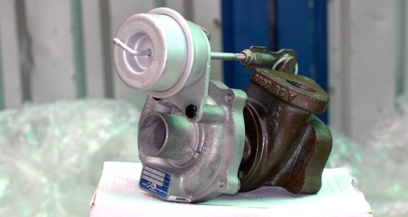 Восстановленный турбокомпрессор в упаковке