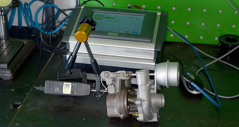 Проверка узлов турбокомпрессора после восстановления