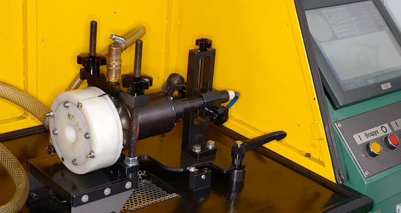 Проверка комплектующих турбины перед сборкой