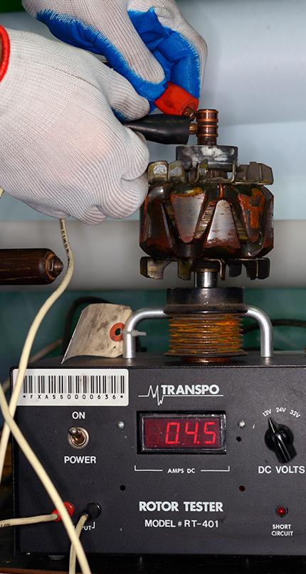 Диагностика узлов генератора перед восстановлением