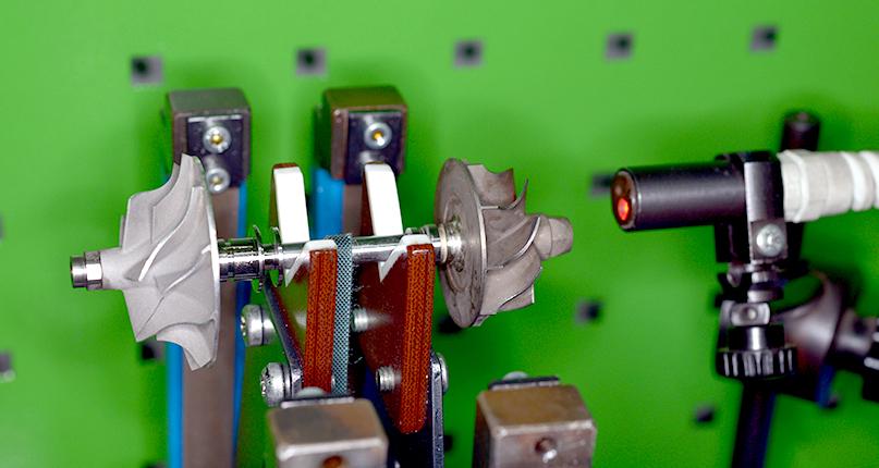 Проверка комплектующих турбокомпрессора после восстановления