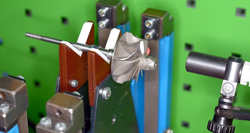 Проверка деталей турбины после восстановления перед сборкой